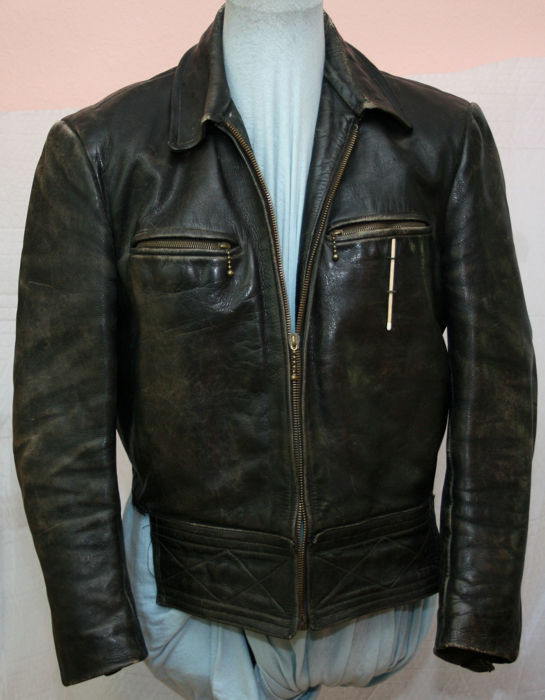 Germany - uniform leather jacket / aviator jacket