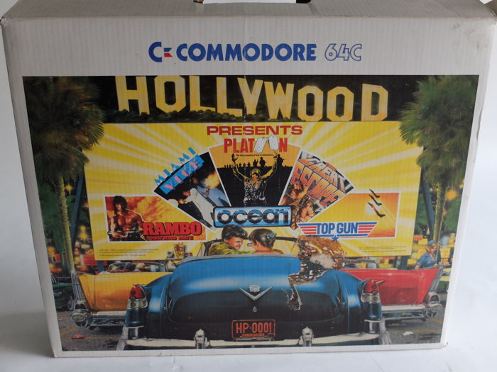 Commodore 64 C Hollywood Presents Pack