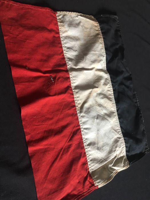 Original flags and photos of the German Empire, First World