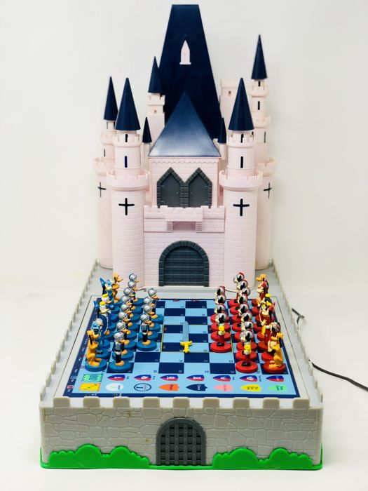 Disney - Limited edition - electronic chess and more games - bakelite