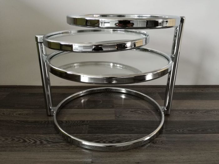 Leitmotiv - Swivel - Coffee table - double swivel