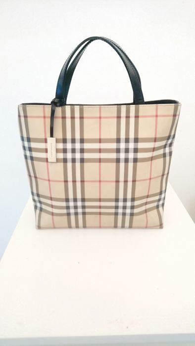 Burberry - Nova Check Tote bag - Catawiki a3a4966264dd7