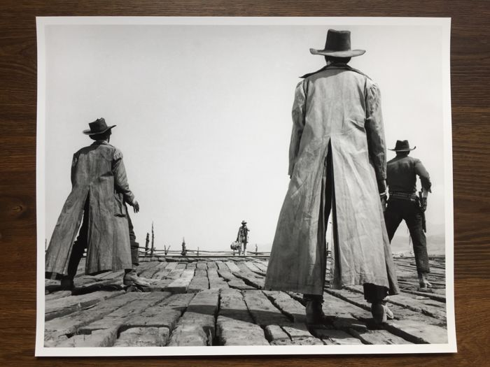 Once Upon a Time in the West - Sergio Leone - Poster, Size:  51 x 41 cm