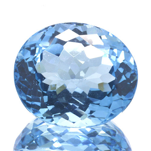 Swiss Blue Topaz - 18.76 ct