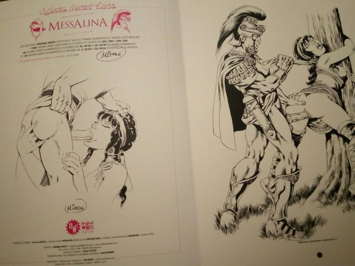 Messalina - Limited first Edition autographed - Vices sévices supplicess... ... et delices - EO - (2015)