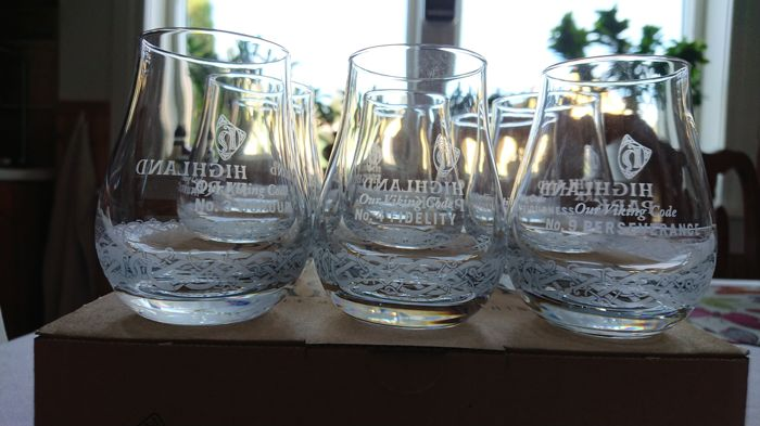 Highland Park Glasses Viking Code 9 Glasses - Whisky glasses