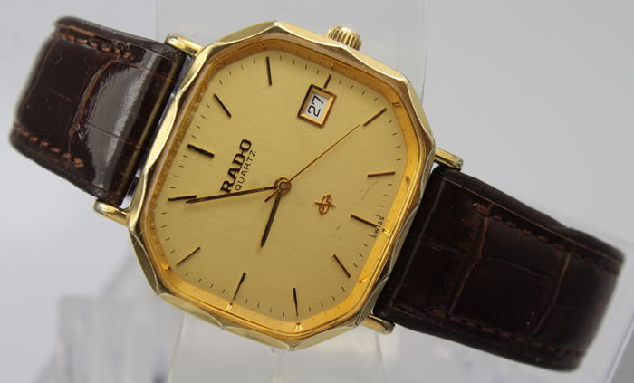 9dd76c621e9 Rado - Gold Plated Vintage - Swiss Made - Men - 1980-1989 - Catawiki