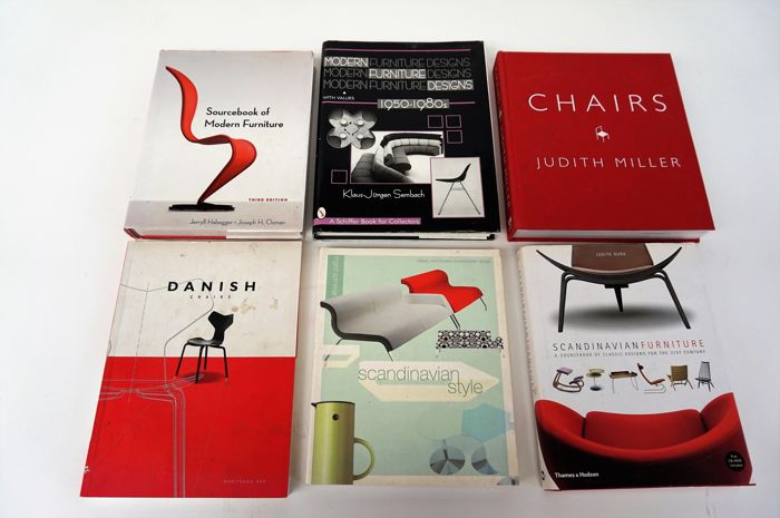 Awesome Lot With 6 Books Design Funiture And Interior Book Catawiki Interior Design Ideas Grebswwsoteloinfo