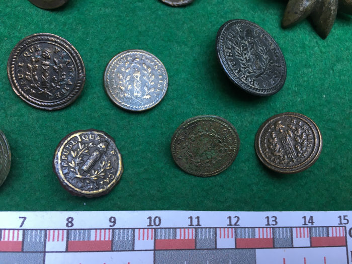 25x France French Regiments and of first French Republic Military