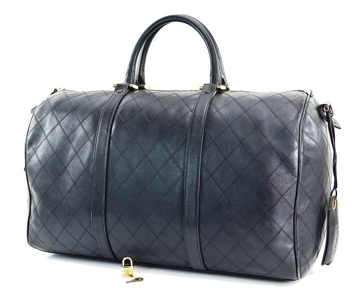 Chanel - Boston 50 Sac de voyage - Vintage - Catawiki 45070782621