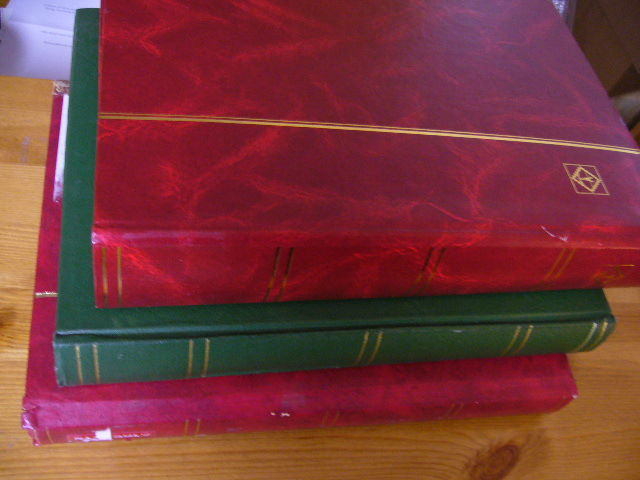 Central and South America - Collection from classic in 3 stock books