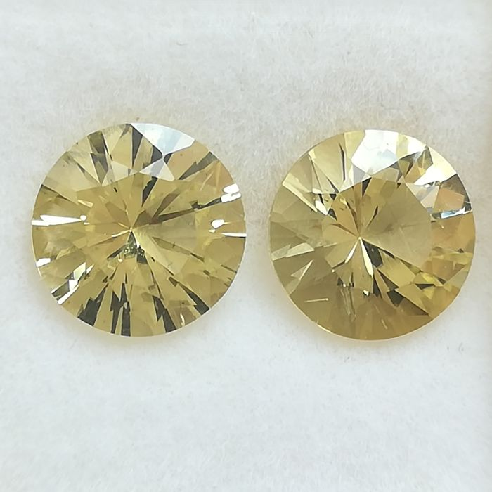 Pair of Scapiolites - 3.21 ct