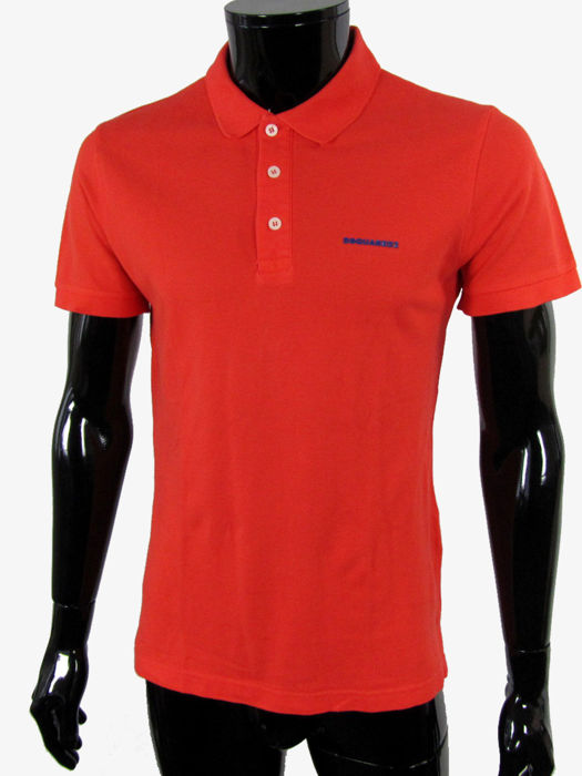 d78be0133 Dsquared2 - Dsquared2 logo Patch Polo - Catawiki
