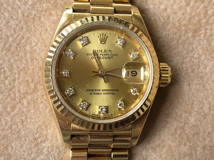 Rolex - Oyster Perpetual Datejust 69178 - Mujer - 1992