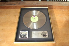 The Beatles - USA RIAA Gold LP Award - Early Beatles - 500,000 Sold in the USA