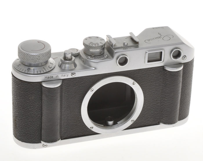 Gamma III, rare Italian (Made in Rome) Leica copy with M39 mount, body only