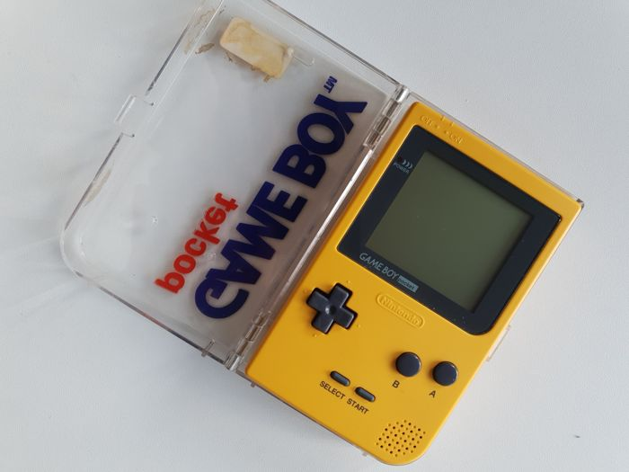 Limited Edition Nintendo Game boy Gameboy Pocket Yellow Console