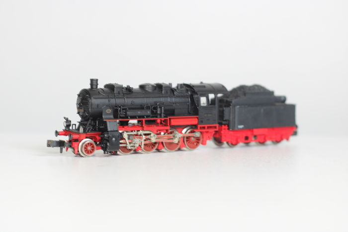 Fleischmann N - 7156 - Steam locomotive with tender - BR 56 - DRG - Catawiki