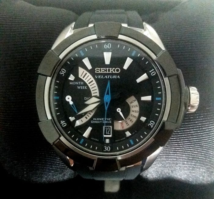 Seiko - Velatura Kinetic Direct Drive - SRH019P1 - Men - 2011-present 6e9a93c695