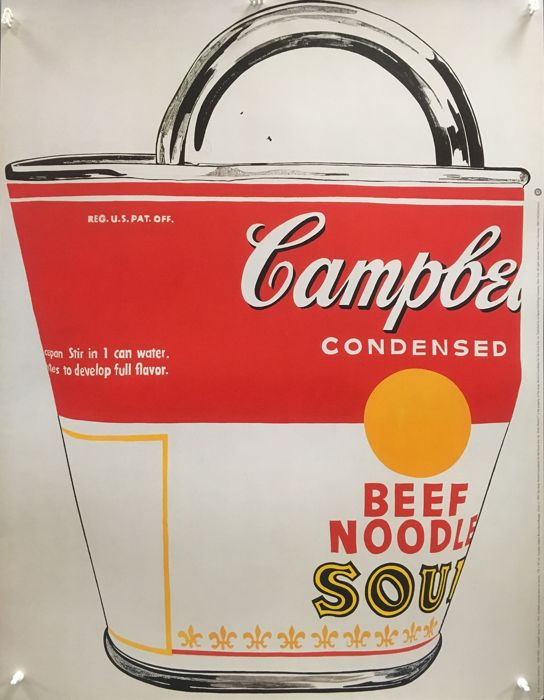 Andy Warhol - Campell's Soup Can, 1962 - 1993