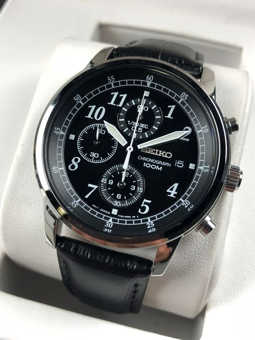 "Seiko - Chronograph - SNDC33P1 - ""NO RESERVE PRICE""  - Men - 2011-present"