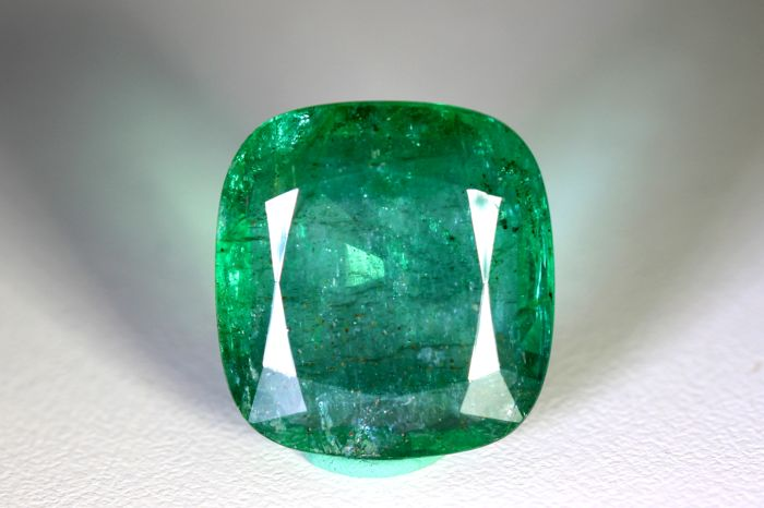 Emerald - 17.34 ct - Zambia