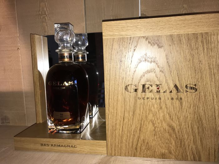Gélas 50 years old - Bas-Armagnac - Limited edition with luxury box - 70cl