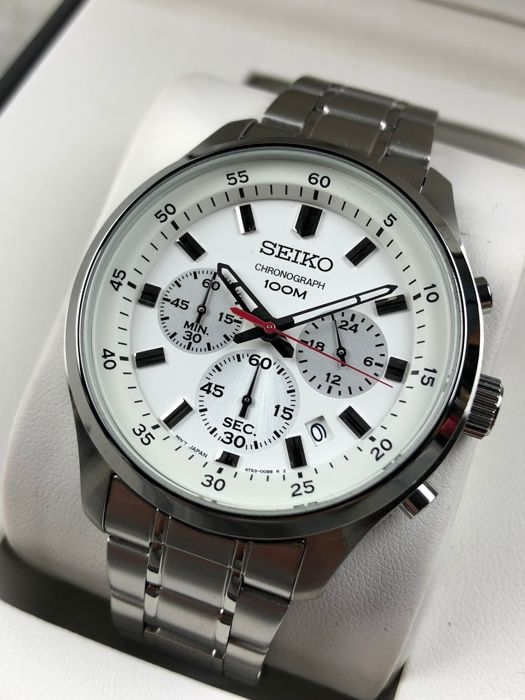 "Seiko - Chronograph - SKS583P1 - ""NO RESERVE PRICE""  - Men - 2011-present"