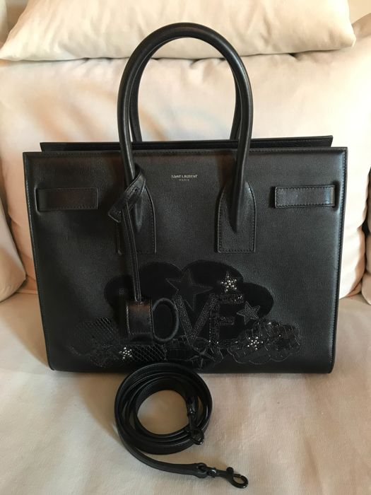 60285d8a Yves Saint Laurent - Love Sac De Jour Tote bag - Catawiki