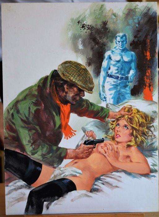 Bonnie #186 - Giovanni Di Stefano - original cover  - First edition - (1976)