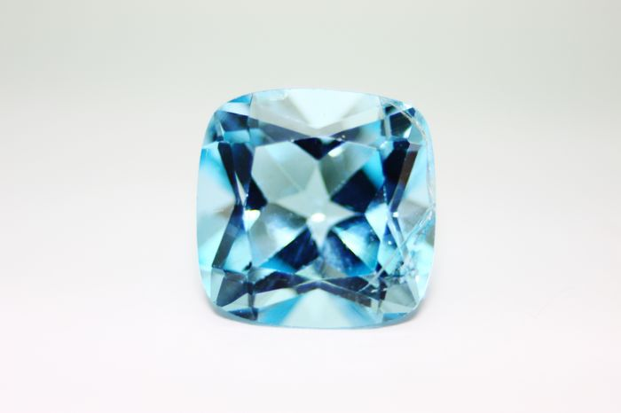 Swiss Blue Topaz - 8.82 ct No Reserve Price