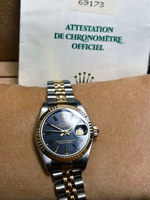 Rolex -  Oyster Perpetual Datejust - 69173 - Mujer - 1990-1999