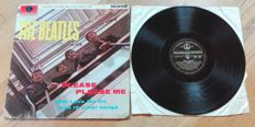 The Beatles. Please please me. Rare 1st UK pressing. March 22- 1963, mono album Parlophone PMC 1202. Black and gold labels. Dick James credits.