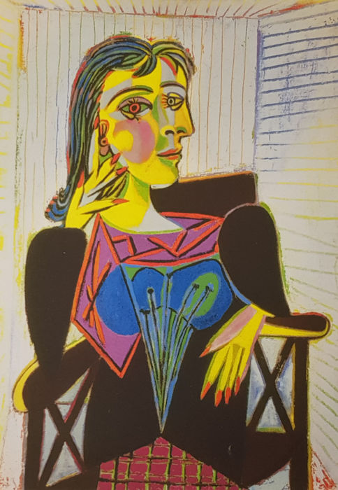 Pablo Picasso (after) - Portrait Dora Maar