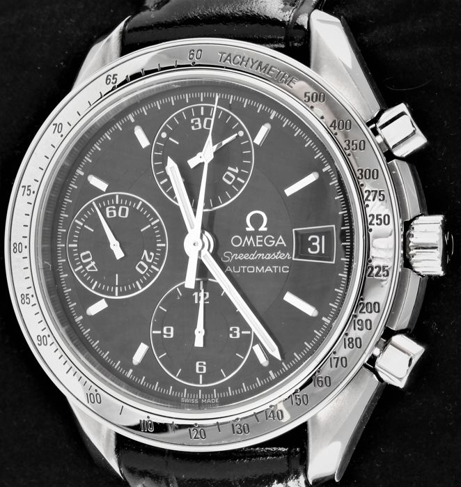 Omega - Speedmaster - Swiss Automatic Chronograph - Ref. No: 35138.0 - Excellent - Warranty - Homme - 2000-2010