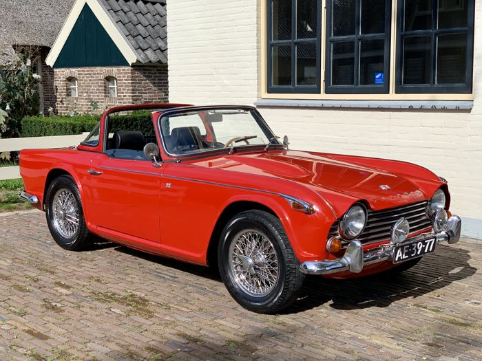 Triumph Tr4a Irs Surrey Top 1967 Catawiki
