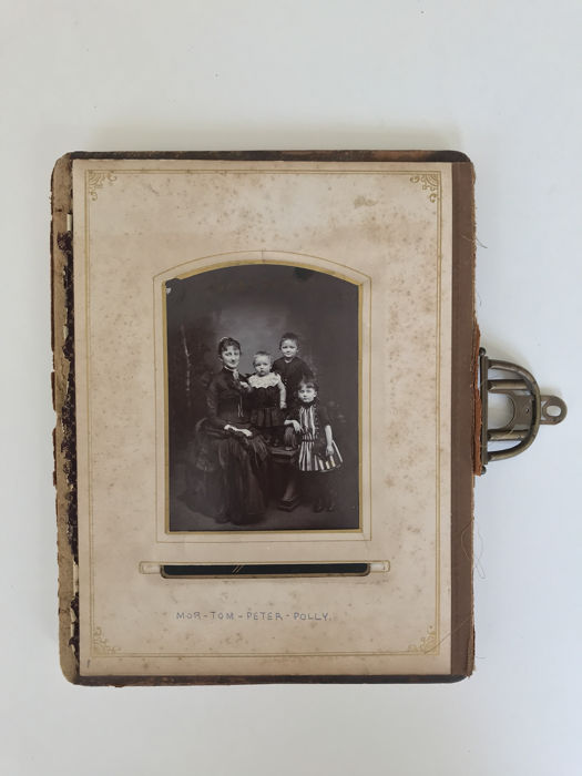 Peter freuchen - family Photo album start ca 1890 - 1890/1930
