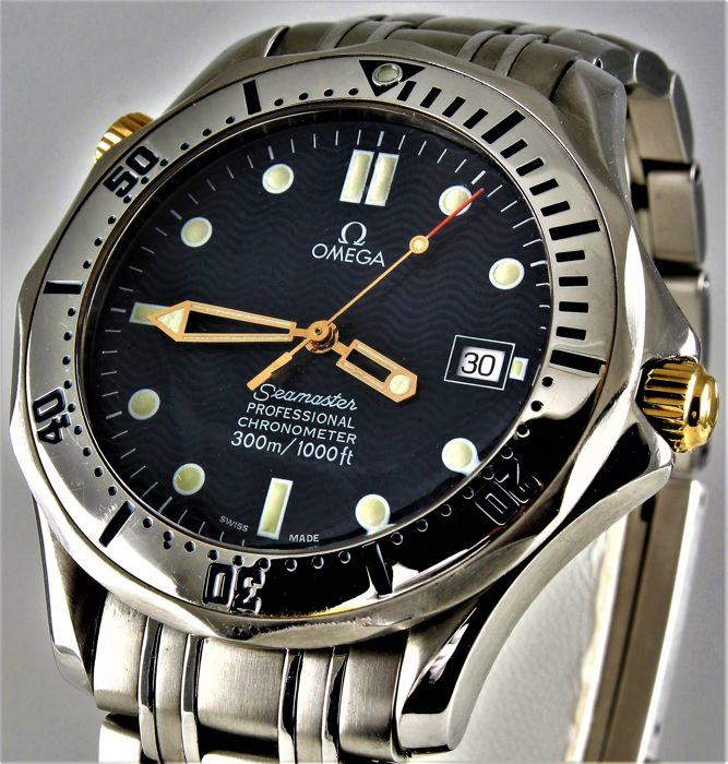 Omega - Seamaster Bond Professional Chronometer 300 meter - Ref.  2532.80 - Perfect condition - Warranty - Homme - 2000-2010