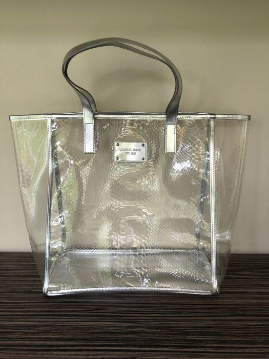 Michael Kors - Silver Clear Tote Bag - *No Minimum Price*