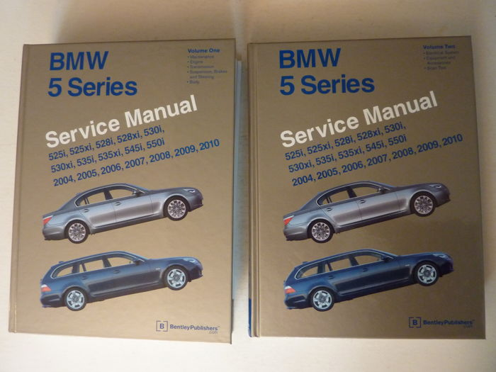 Boeken - BMW 5 series - 2010-2004 (2 items)