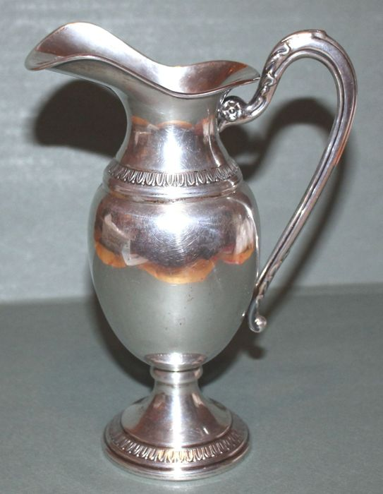 Silver Pitcher - Vicenza, Italy, early 20th century