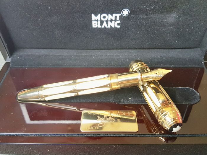 "Montblanc ""Pope Julius II"" fountain pen - Patron of Arts of the year 2005 - Original box - NO RESERVE PRICE"