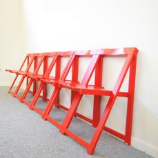 Aldo Jacober voor Alberto Bazzani - folding chairs
