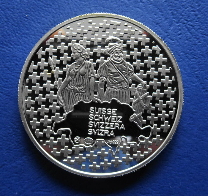 îles Cook Suisse 1 Dollar 2003 And Medal 2009 Sir Rowland Hill