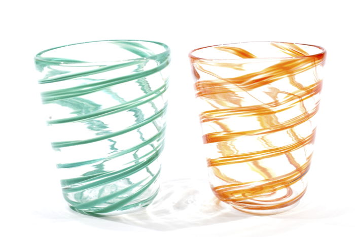 Zaire - Set of liquor glasses from the Spirale collection