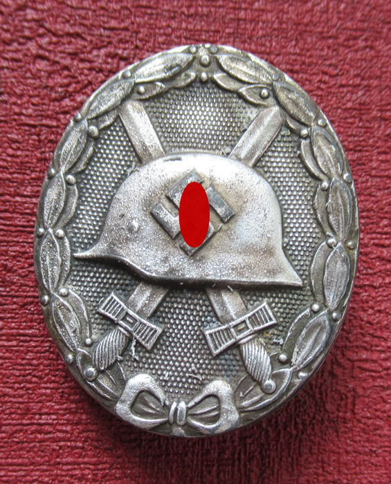 1939 Army Wound Badge in Silver (2nd Design) - Catawiki
