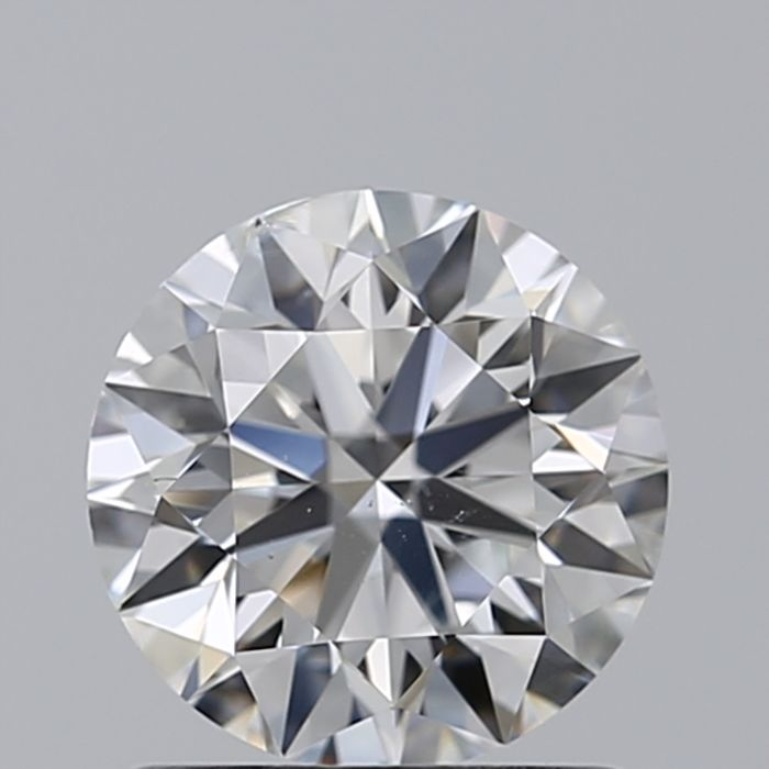 1 pcs Diamante - 0.96 ct - Brillante - G - SI2