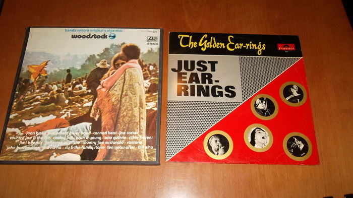 Lot of 2 collectible LP albums :