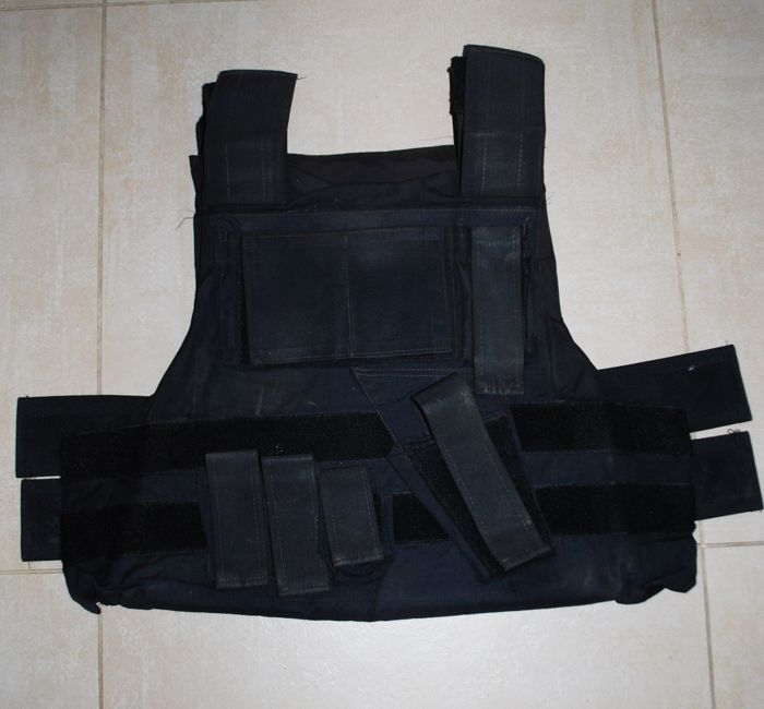 Kevlar bulletproof vest, 3a protection, one size and adjustable, tactical high protection model by Parnisari