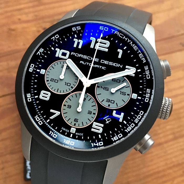 Porsche Design - Titanium Chronograph New with Tags  - P661215481139 - Heren - 2018